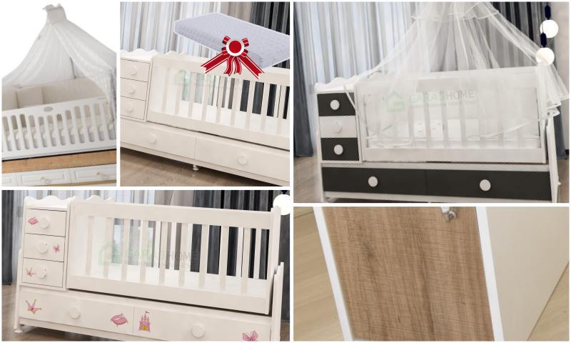 Bebek Odası Takımının Olmazsa Olmazı Bebek Karyolası