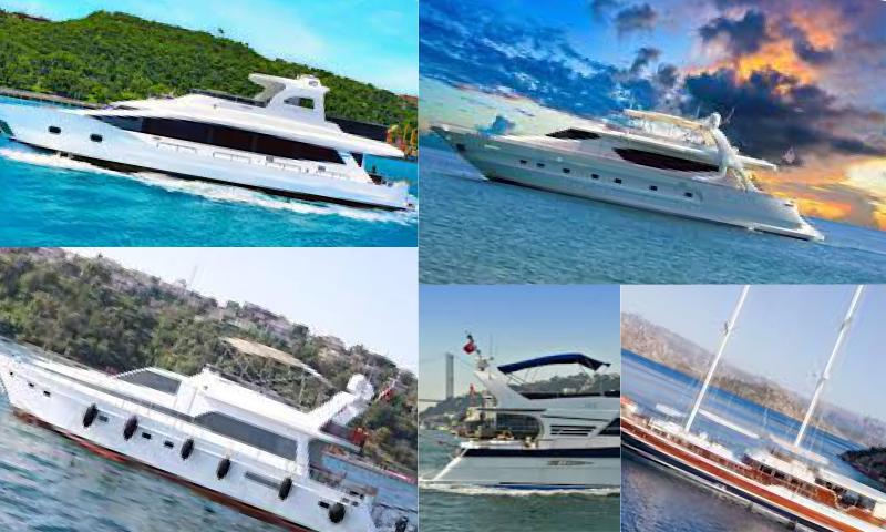 Tekne Kiralayarak Tatil Yapın